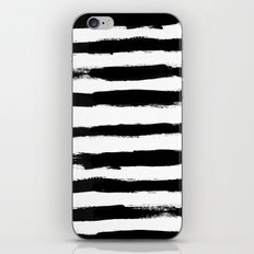 Black Stripe Pattern iPhone & iPod Skin