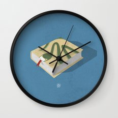 Poisoned words Wall Clock