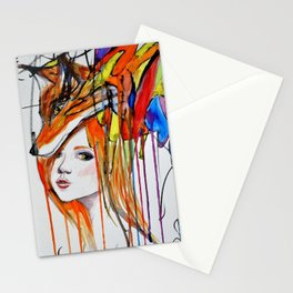 The Lady and the Fox Stationery Cards
