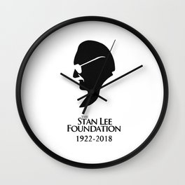 Stan Lee You were creative Wall Clock