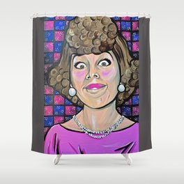 Eunice Harper Higgins Shower Curtain