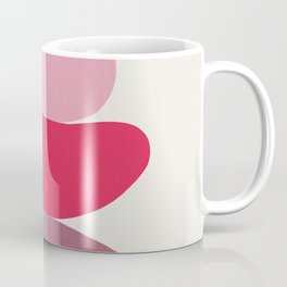 Scoop // Abstract in Pink Coffee Mug