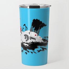 Offshore Dolphin Drilling Travel Mug