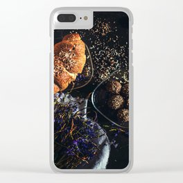 Sweet Bread Clear iPhone Case