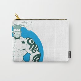Luxuris in blue Carry-All Pouch