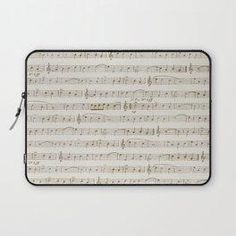 Sheet Music Laptop Sleeve