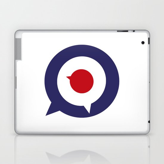 Mod thoughts Laptop & iPad Skin