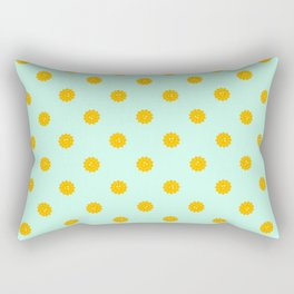 Retro Sun Rectangular Pillow