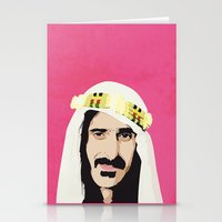 zappa Stationery Cards featuring ZAPPA! by f_e_l_i_x_x