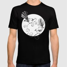 Fantails #2 Mens Fitted Tee X-LARGE Black