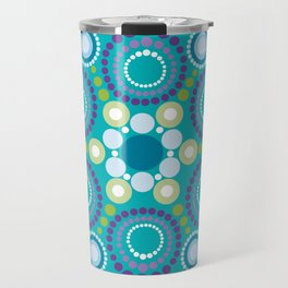 Mandala Lotus flower Travel Mug