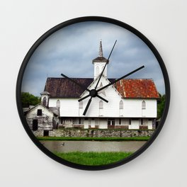 Star Barn Wall Clock