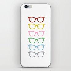 Glasses #3 iPhone & iPod Skin