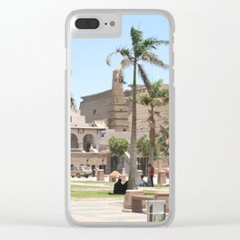 Temple of Luxor, no. 16 Clear iPhone Case
