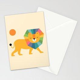 Lion Shine Stationery Cards