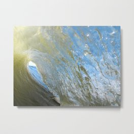 Morning Shorebreak Metal Print