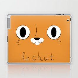 Le Chat (Orange) Laptop & iPad Skin