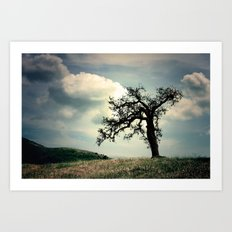a mighty fine tree Art Print