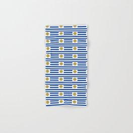 flag of Uruguay-Uruguyan,montevideo,spanish,america,latine,Salto,south america,paysandu,costa,sun Hand & Bath Towel