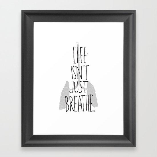 (but love) Framed Art Print
