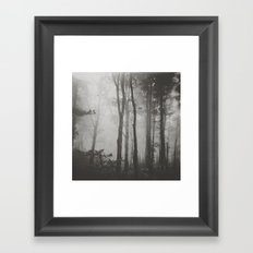 Before Darkness Comes Framed Art Print