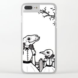 The Tainted Youth Clear iPhone Case