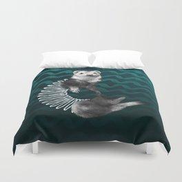 Ferret Slinky Duvet Cover