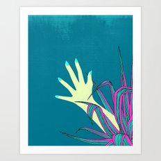 give it a try Art Print