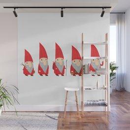 Gnomes Wall Mural