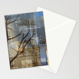 Dead Trees Stationery Cards