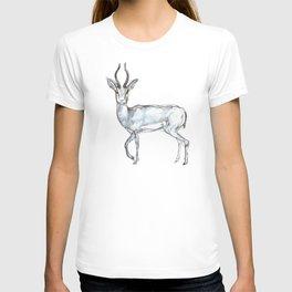 Antelope, watercolor T-shirt