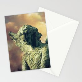 The Angel of Pere Lachaise Stationery Cards