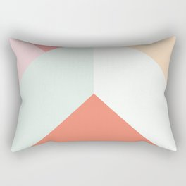 Ultra Geometric II Rectangular Pillow