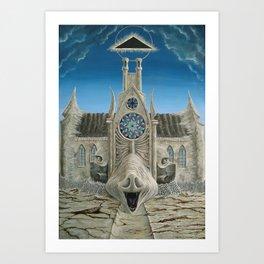 Die Schweinskirche Art Print