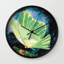 """Luna Moth II"" Wall Clock"