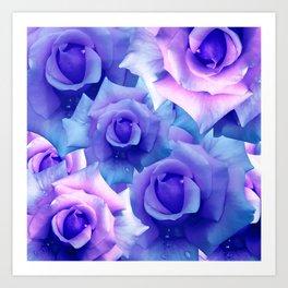 Bouquet de fleur Art Print