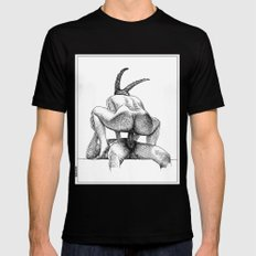 asc 623 - Le sacrifice du bouc (The performers I) First draft MEDIUM Black Mens Fitted Tee