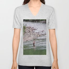 Looking for Salmon Unisex V-Neck