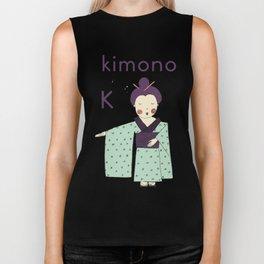 K is for Kimono Biker Tank