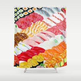 Sushi Shower Curtain