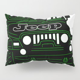 Jeep Pillow Sham