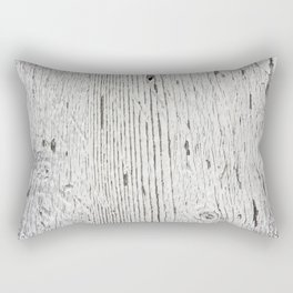 Painted wood Rectangular Pillow