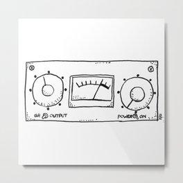 compressor LA-3A Metal Print