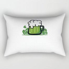 I Drink Green Beer Rectangular Pillow