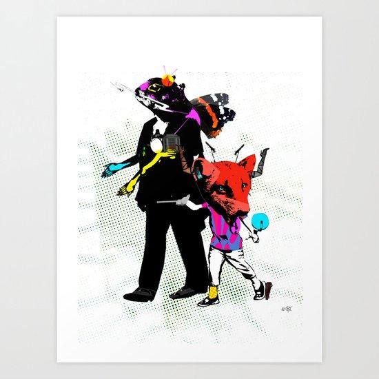 Fabulous Creatures Art Print