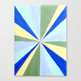 Pinwheel Art Canvas Print
