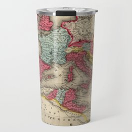 Vintage Map of The Roman Empire (1875) Travel Mug