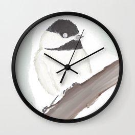 Maine • Chickadee Wall Clock