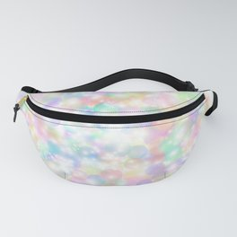 Rainbow Bubbles of Light Fanny Pack