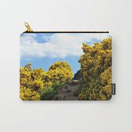 Edinburgh Scotland Sunflower Path-United Kingdom Carry-All Pouch